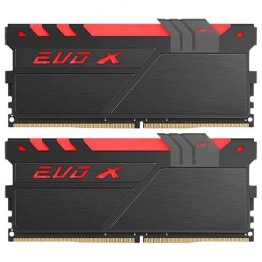 Оперативная память 8 ГБ 2 шт. GeIL EVO X GEXB416GB2400C16DC