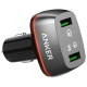 Автомобильная зарядка ANKER PoverDrive+ 2 Elite + Micro USB cable