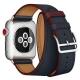 Mokka Ремешок Double Tour Hermes для Apple Watch 42/44mm