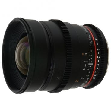 Объектив Samyang 24mm T1.5 ED AS UMC VDSLR Nikon F