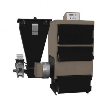 Твердотопливный котел Kentatsu VULKAN PR-30P 35 кВт одноконтурный