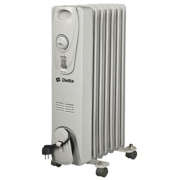 Масляный радиатор DELTA D-25-7