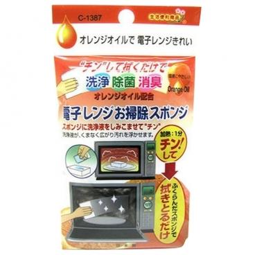 Средство для чистки микроволновых печей с апельсиновым маслом Sanada Seiko