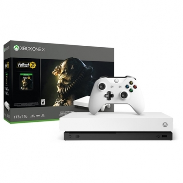 """Игровая приставка Microsoft Xbox One X """"Robot White"""""""