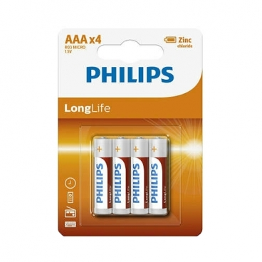 Батарейка Philips LongLife ААА