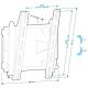 Кронштейн на стену Holder LCDS-5010