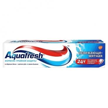 Зубная паста Aquafresh Освежающе-мятная