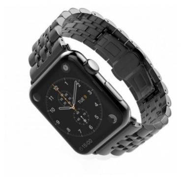 CARCAM Ремешок для Apple Watch 38mm Metal 7-bead