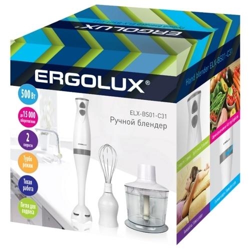 Погружной блендер Ergolux ELX-BS01-C31
