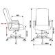 Компьютерное кресло Бюрократ DOMINUS-KTW для руководителя