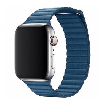 Devia Ремешок кожаный Leather Magnet Band для Apple Watch 42/44mm