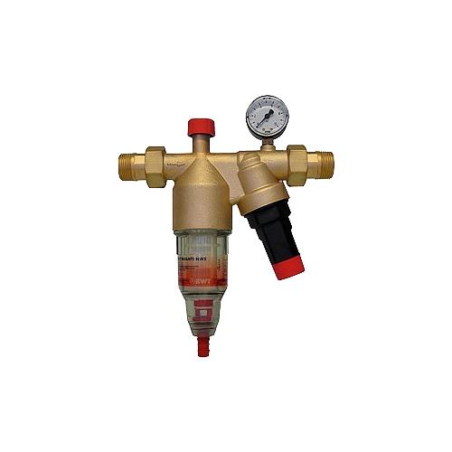 Фильтр механической очистки BWT Avanti HWS муфтовый (НР/НР), с манометром