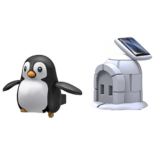 Электромеханический конструктор ND Play На солнечной энергии 265618 Пингвин