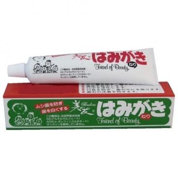 Зубная паста Fudo Kagaku Binotomo отбеливающая для защиты от кариеса и зубного камня