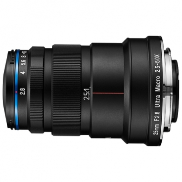 Объектив Laowa 25mm f/2.8 2.5-5x Ultra Macro Canon EF