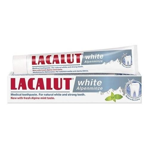 Зубная паста Lacalut White Alpenminze, мята