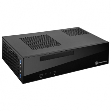 Компьютерный корпус SilverStone ML09B Black