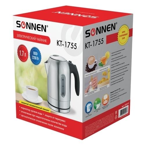 Чайник SONNEN KT-1755
