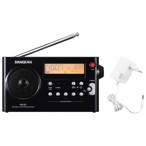 Радиобудильник Sangean PR-D7