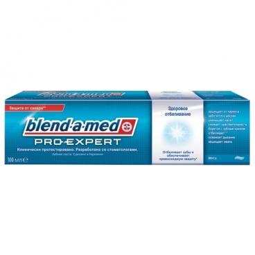 Зубная паста Blend-a-med Pro-Expert Здоровое отбеливание Мята