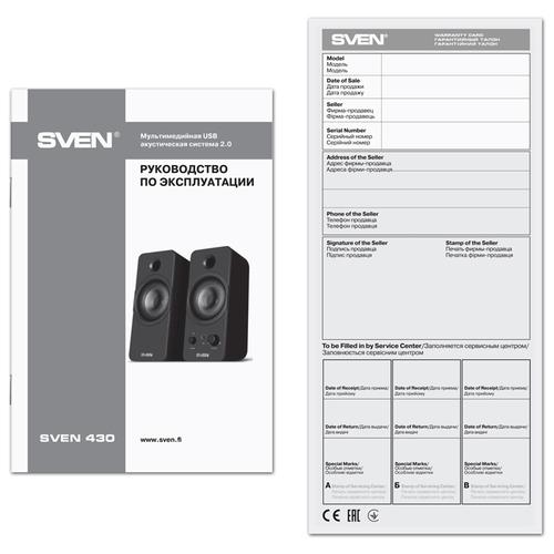 Компьютерная акустика SVEN 430