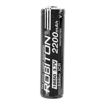 Аккумулятор Li-Ion 2200 мА·ч ROBITON 18650-2200 с защитой