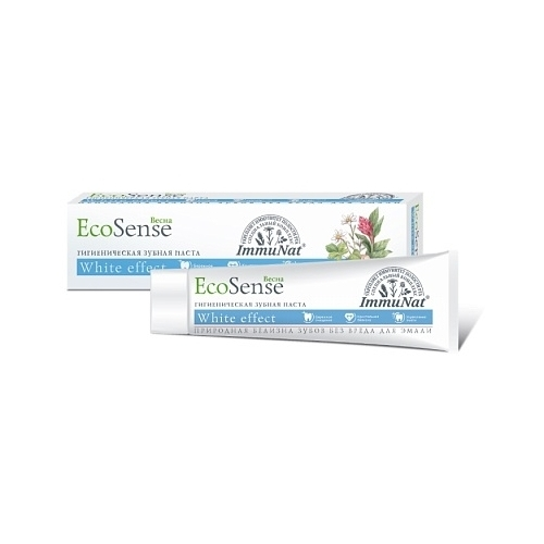 Зубная паста Весна Ecosense White effect