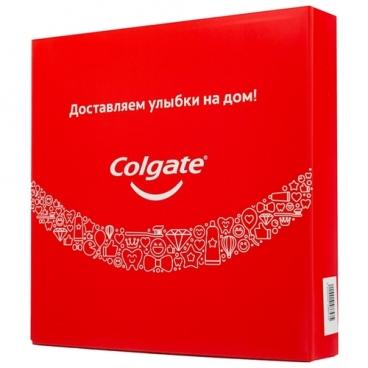 Набор средств Colgate Total 12 комплексная зубная паста-гель 75 мл, мягкая зубная щетка, ополаскиватель для полости рта 250 мл