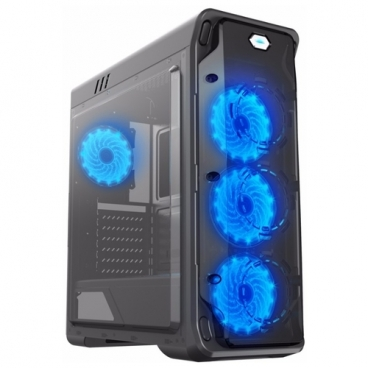 Компьютерный корпус GameMax StarLight Black/blue
