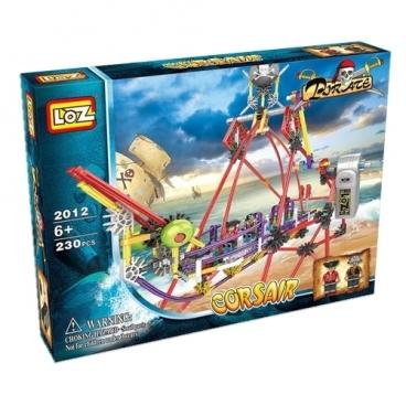 Электромеханический конструктор LOZ Pirate 2012 Парк развлечений