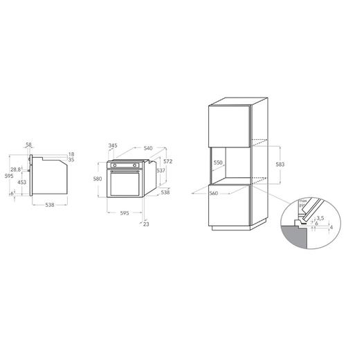 Электрический духовой шкаф KitchenAid KOHSP 60602