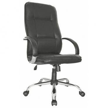 Компьютерное кресло Мирэй Групп Филадельфия хром для руководителя