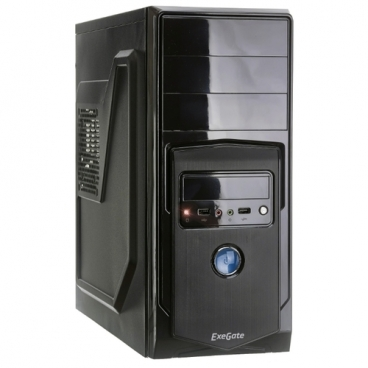Компьютерный корпус ExeGate XP-328 600W Black