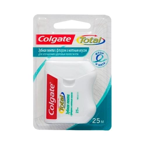 Colgate TOTAL зубная лента с фтором и мятным вкусом, 25 м