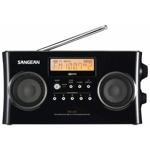 Радиобудильник Sangean PR-D5