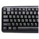 Клавиатура NAKATOMI KN-02U Black USB