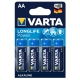 Батарейка VARTA LONGLIFE Power AA