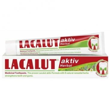 Зубная паста Lacalut Aktiv Herbal