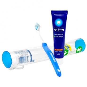 Зубная паста + щетка Lion Clinica с зубной щеткой