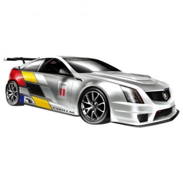 Легковой автомобиль GK Racer Series Cadillac CTS-V Coupe (866-1805) 1:18