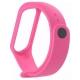 Karmaso Ремешок для Xiaomi Mi Band 3 розовый