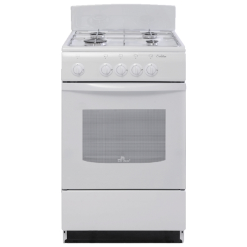 Плита De Luxe 5040.38Г (Щ) белая