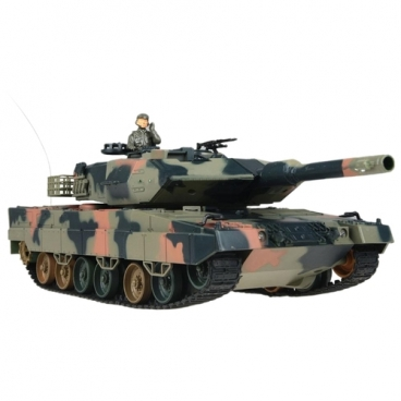 Танк Heng Long Leopard II A5 (3809) 1:24 42 см