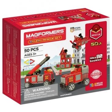 Магнитный конструктор Magformers Amazing 717003 Rescue Set
