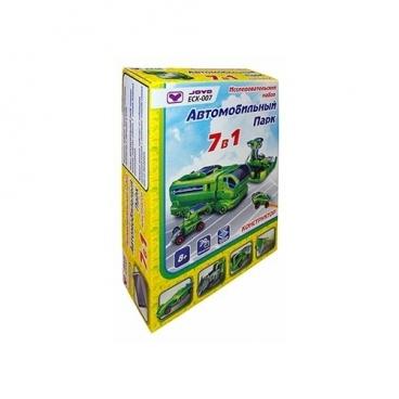 Электромеханический конструктор JoyD ECK-007 Автомобильный парк 7в1