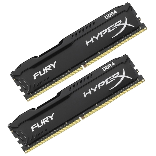 Оперативная память 16 ГБ 2 шт. HyperX HX432C18FBK2/32