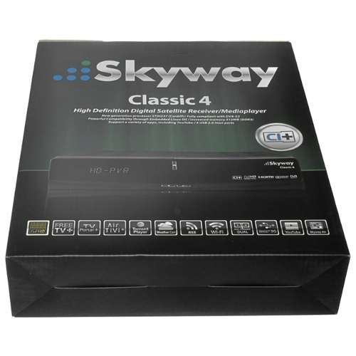 Спутниковый ресивер Skyway Classic 4