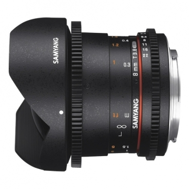 Объектив Samyang 8mm T3.8 AS IF UMC Fish-eye CS II VDSLR Pentax K""