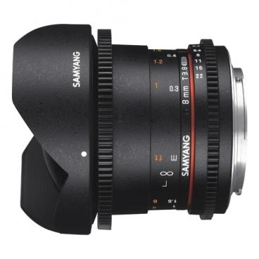 "Объектив Samyang 8mm T3.8 AS IF UMC Fish-eye CS II VDSLR Pentax K"""