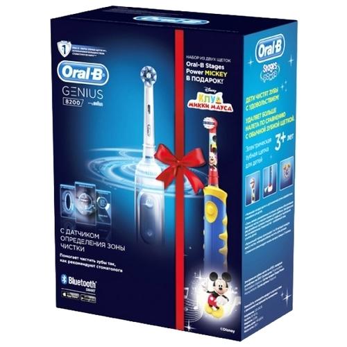 Электрическая зубная щетка Oral-B Genius 8200